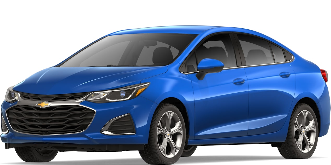 2019 CRUZE IN KINETIC BLUE METALLIC