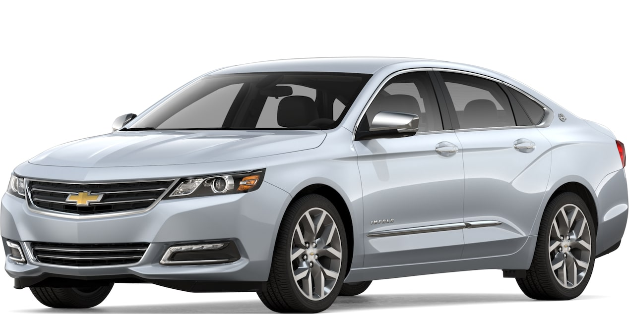 2019 IMPALA IN SILVER ICE METALLIC