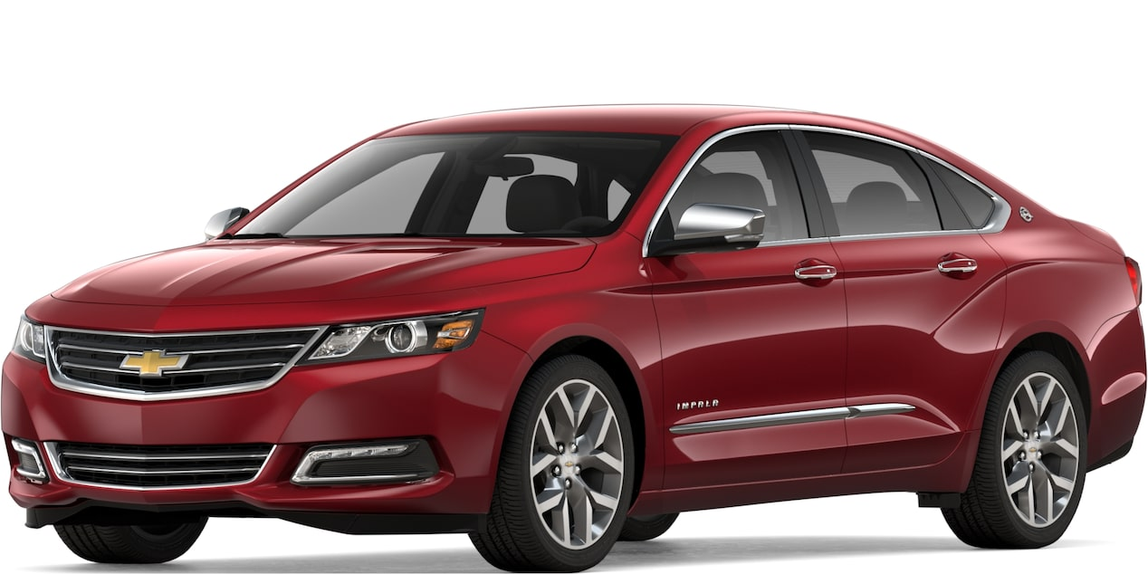 2019 IMPALA IN CAJUN RED TINTCOAT