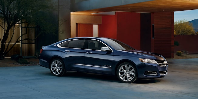 The 2019 Chevrolet Impala full-size sedan.