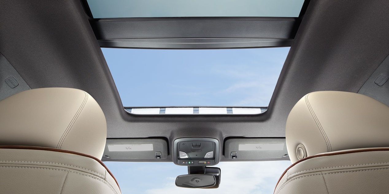 2019 Impala's available power sunroof.