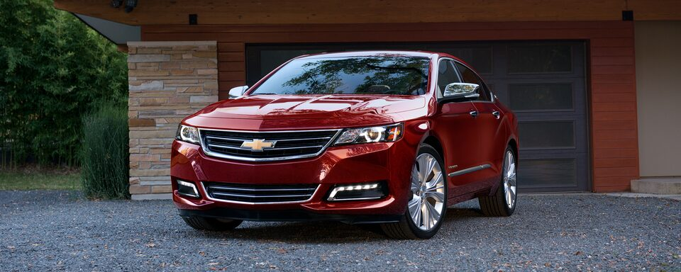 2019 Chevrolet Impala full-size sedan.