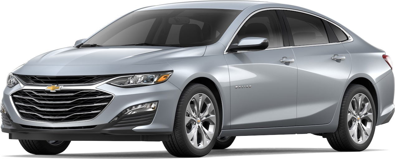 2019 Malibu mid-size car Exterior CGI: Front side view