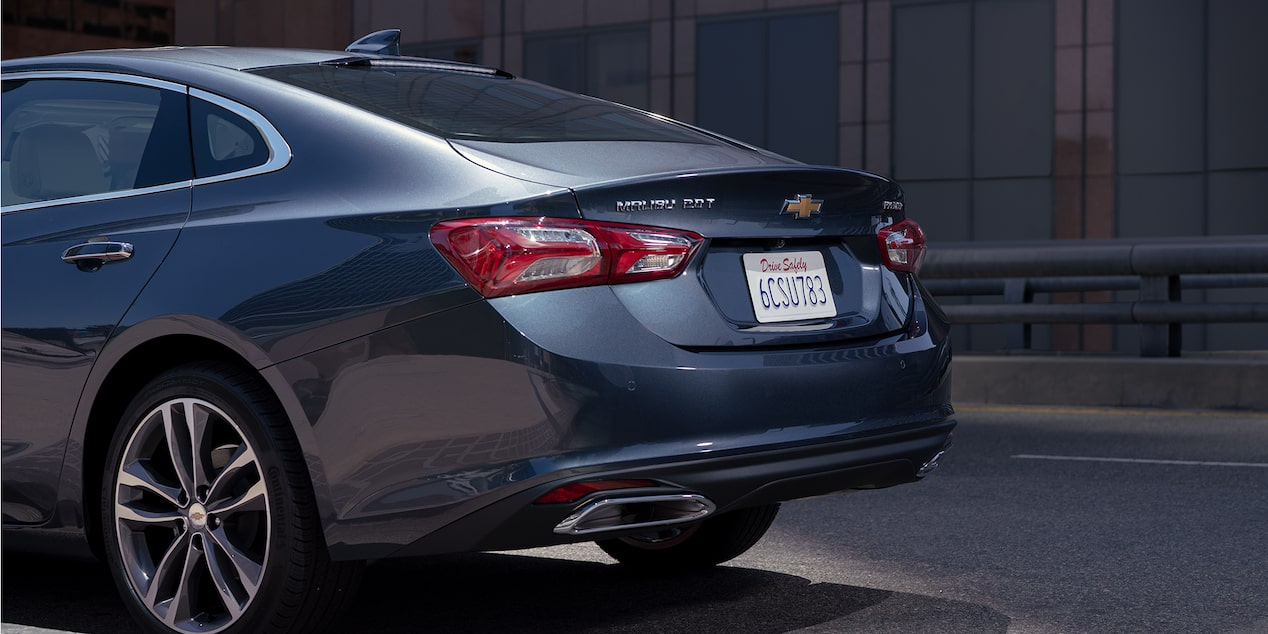 2019 Chevrolet Malibu design: rear exterior.