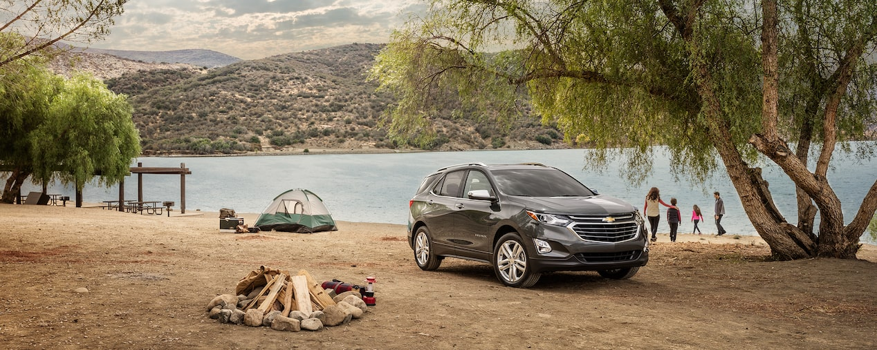 Chevrolet Equinox has the power to tow for weekend getaways.