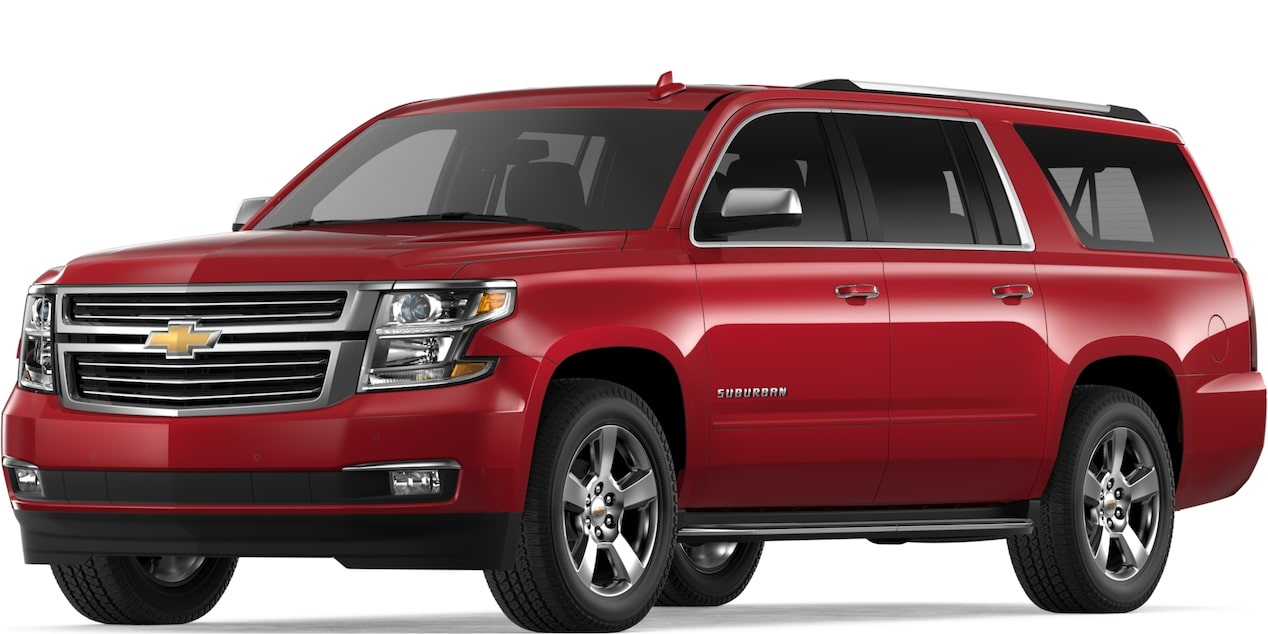 2019 SUBURBAN IN SIREN RED TINTCOAT