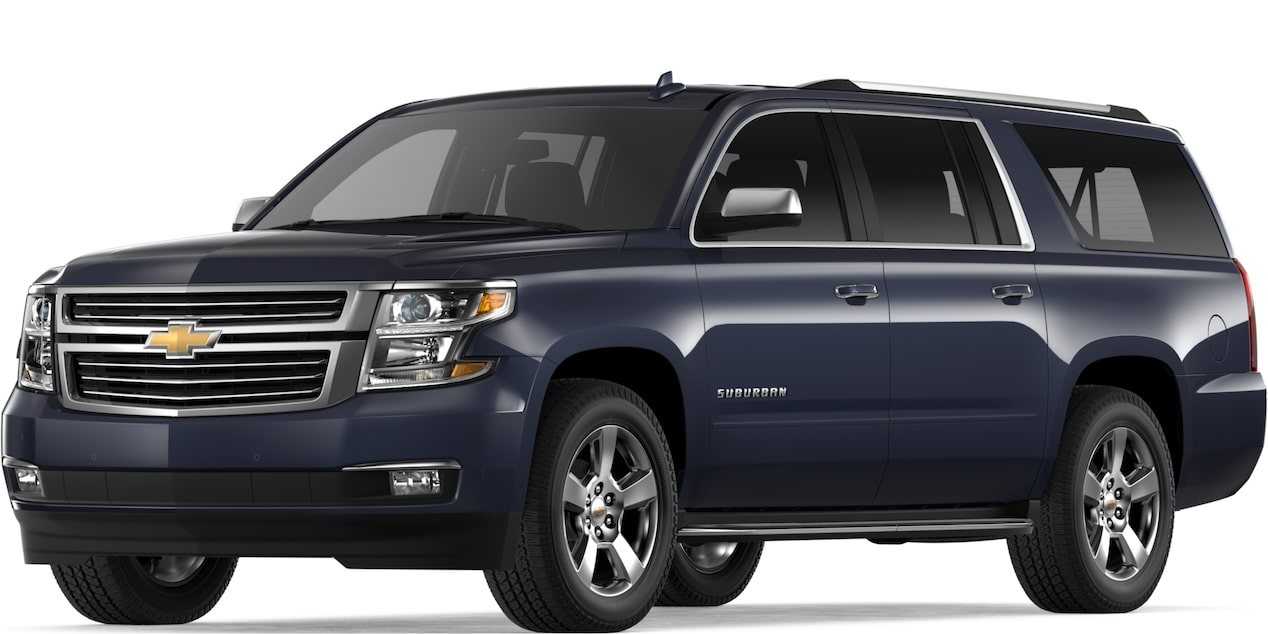 2019 SUBURBAN IN BLUE VELVET METALLIC