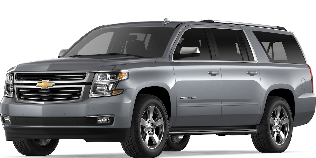 2019 SUBURBAN IN SATIN STEEL METALLIC
