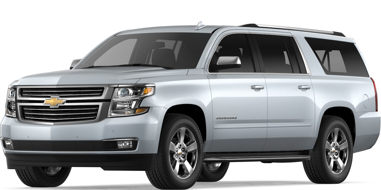2019 SUBURBAN IN SILVER ICE METALLIC