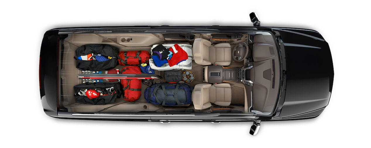 2019 Suburban Large SUV Cargo: game time