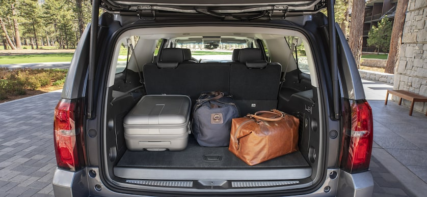 2019 Suburban Large SUV Design: cargo space