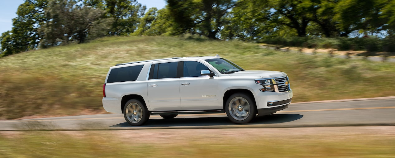 2019 Suburban Large SUV Performance: front grille