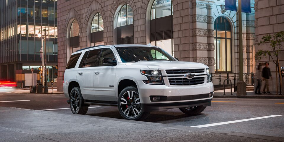 2019 Chevrolet Tahoe Special Edition.