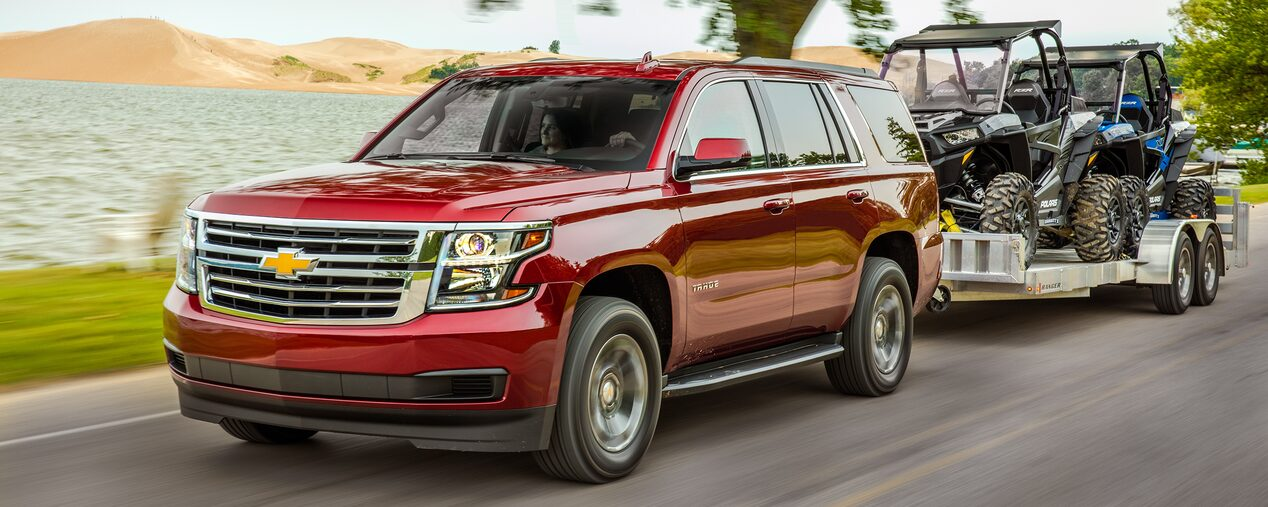 2019 Chevrolet Tahoe full-size SUV performance.