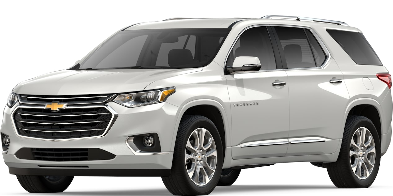 2019 TRAVERSE IN IRIDESCENT PEARL TRICOAT