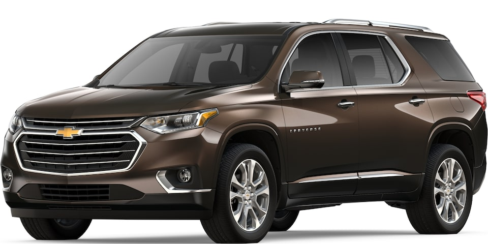 2019 TRAVERSE IN HAVANA BROWN METALLIC