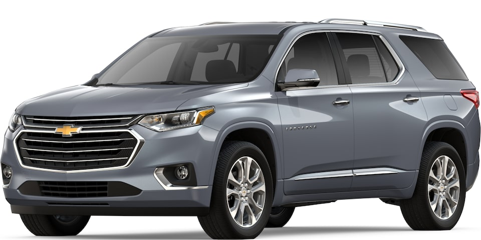 2019 TRAVERSE IN SATIN STEEL METALLIC