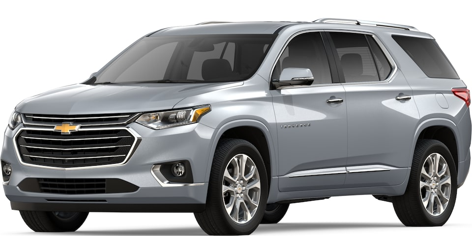 2019 TRAVERSE IN SLIVER ICE METALLIC