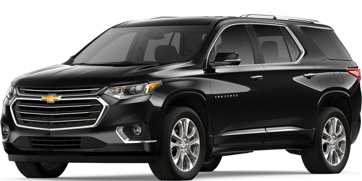 2019 TRAVERSE IN MOSAIC BLACK METALLIC