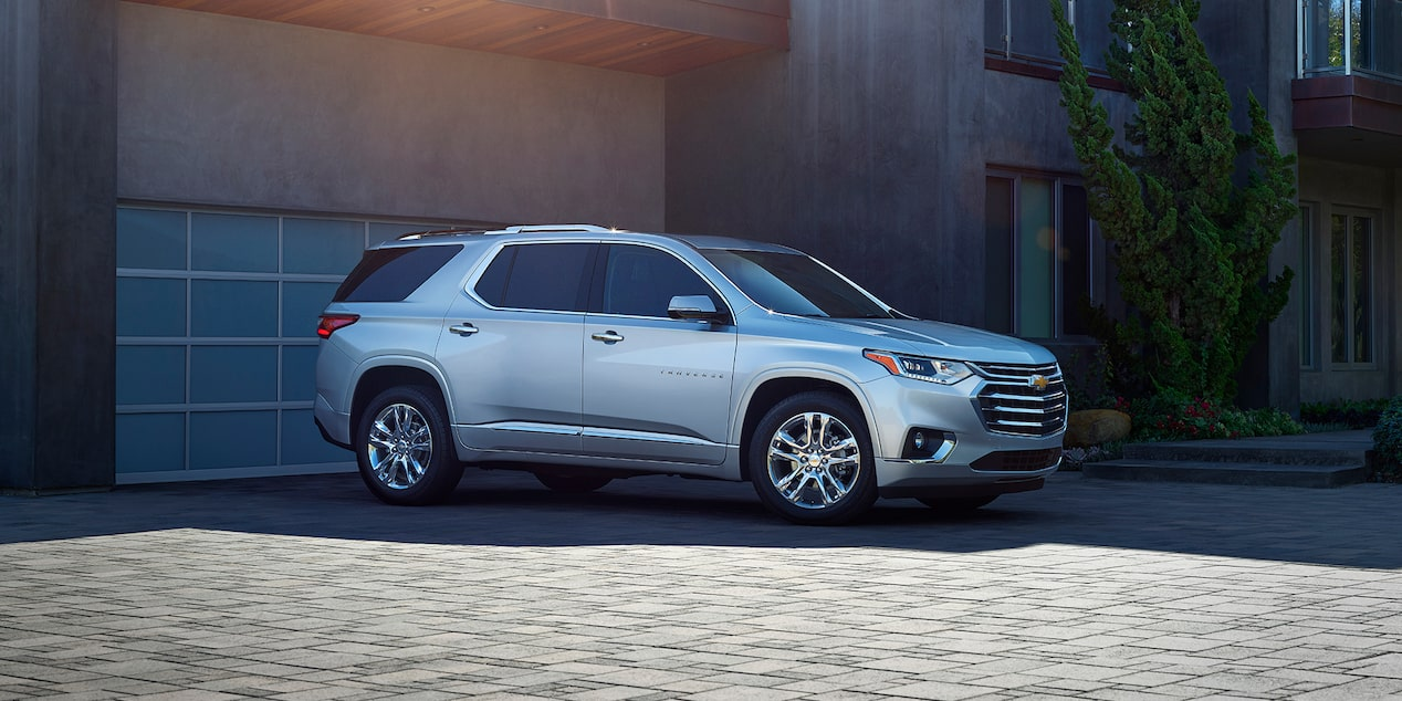2019 Traverse Mid Size SUV Design: side profile