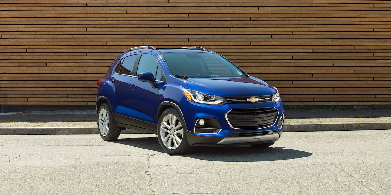 The 2019 Chevrolet Trax small SUV offers eight seating/cargo configurations.