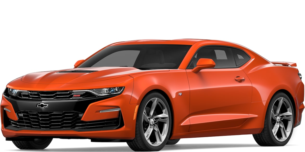 2019 CAMARO IN CRUSH