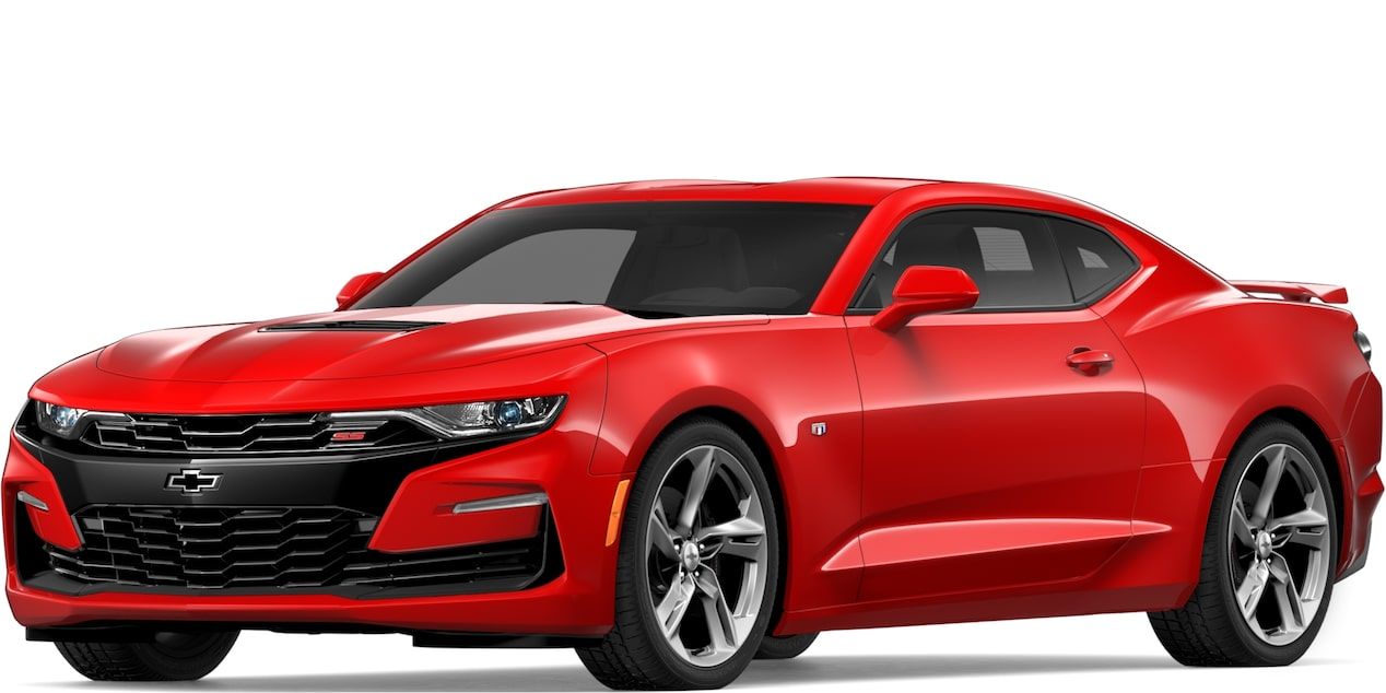 2019 CAMARO IN RED HOT