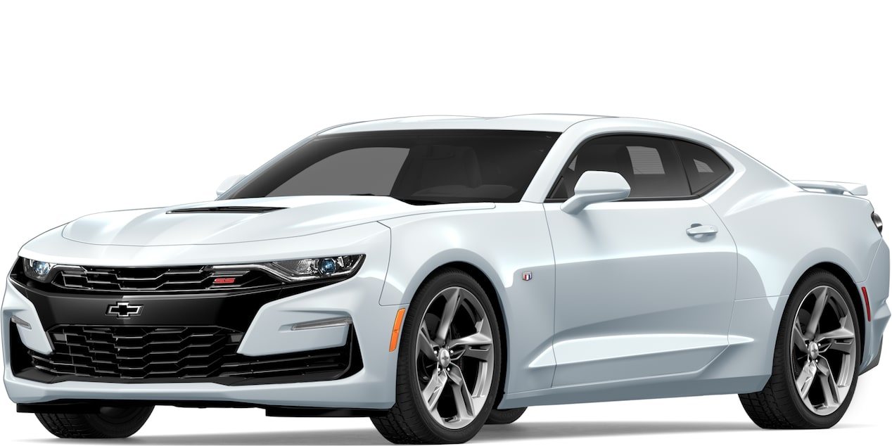 2019 CAMARO IN SUMMIT WHITE
