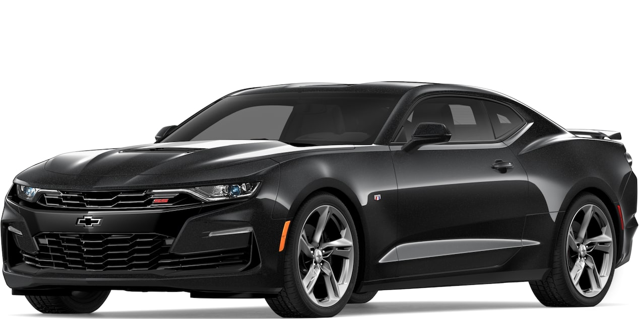 2019 CAMARO IN MOSAIC BLACK METALLIC