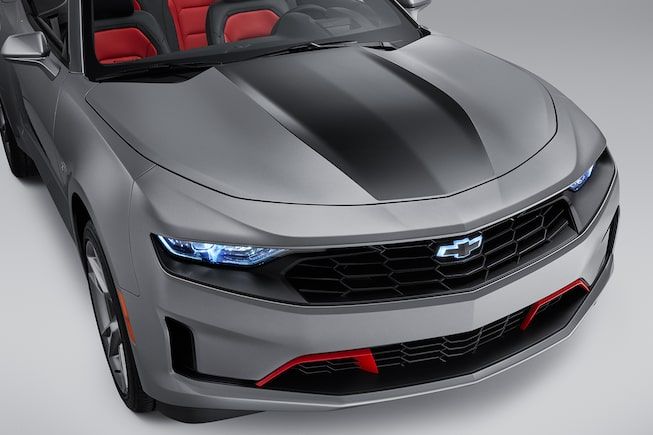 2019 Camaro: Convertible black stripe.