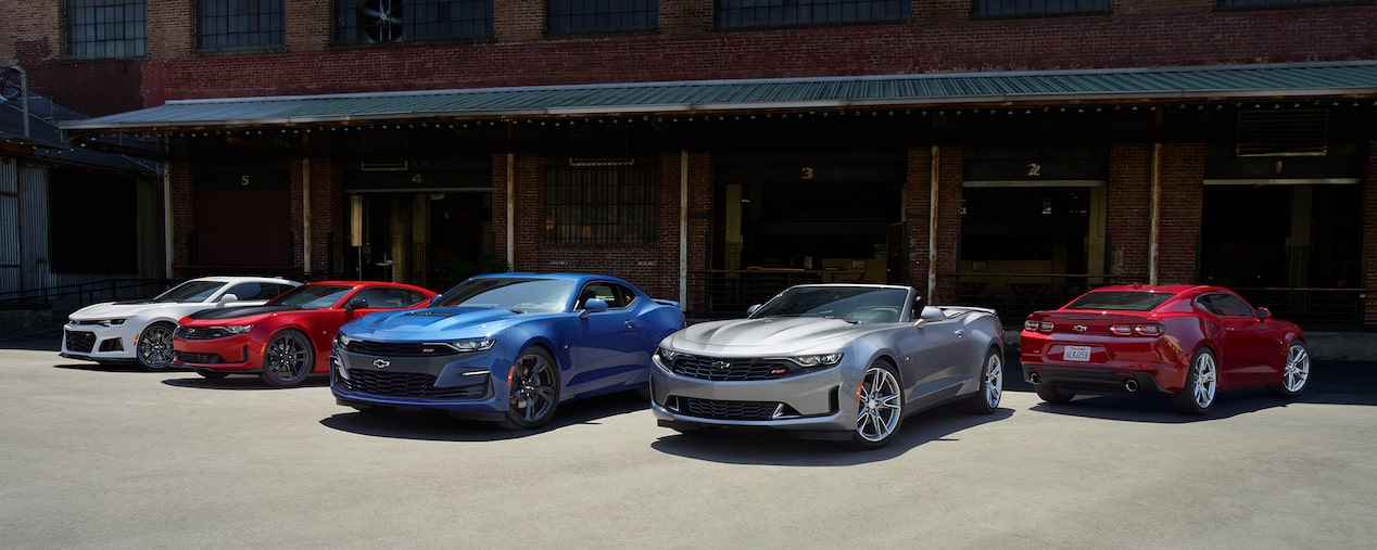 The new 2019 Chevrolet Camaro lineup.