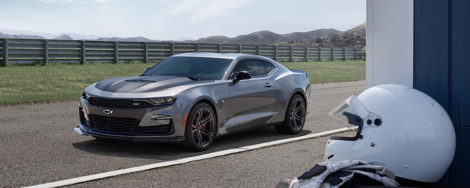 2019 Camaro sports car: front driver side view.
