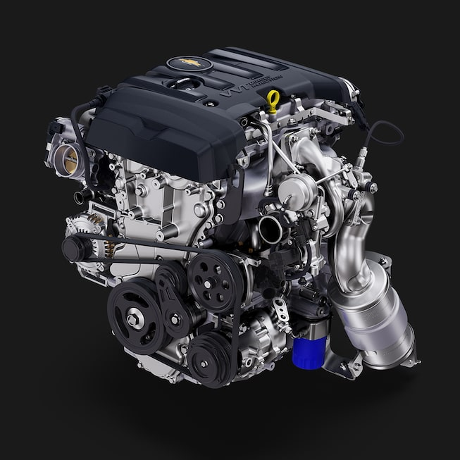 2019 Camaro: 2.0L Turbo engine.