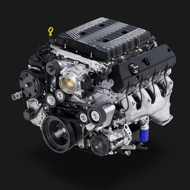 2019 Camaro: 6.2L LT4 V8 engine.