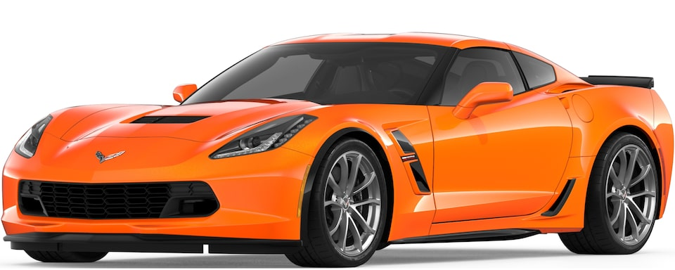 2019 CORVETTE GRAND SPORT IN SEBRING ORANGE