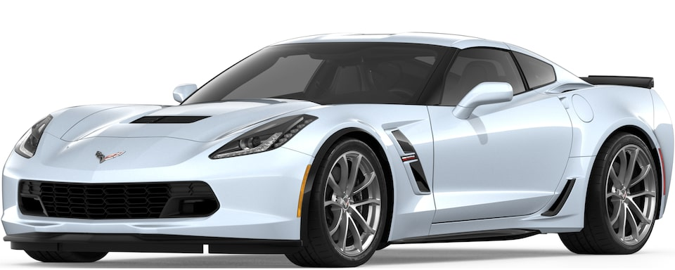 2019 CORVETTE GRAND SPORT IN CERAMIC MATRIX GREY METALLIC