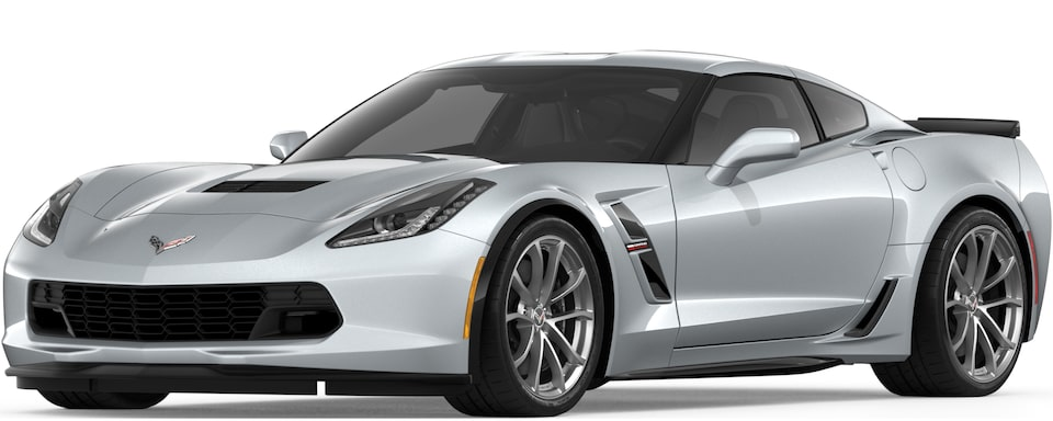 2019 CORVETTE GRAND SPORT IN BLADE SILVER METALLIC
