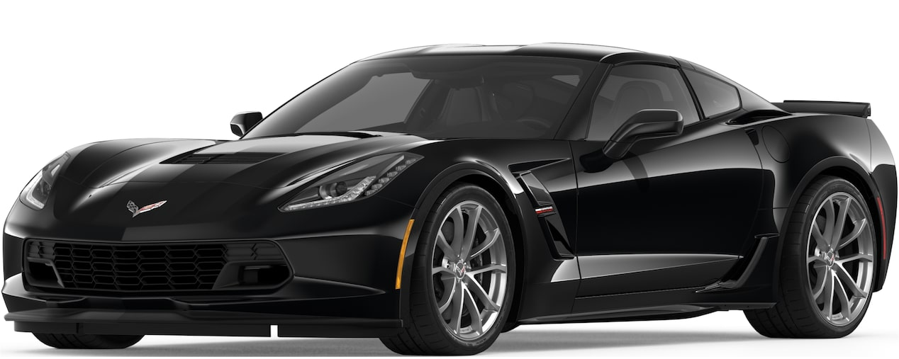2019 CORVETTE GRAND SPORT IN BLACK