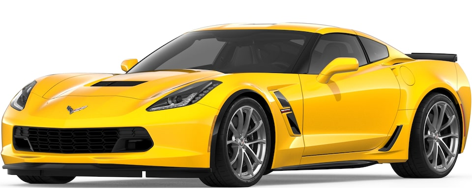 2019 CORVETTE GRAND SPORT IN CORVETTE RACING YELLOW TINTCOAT