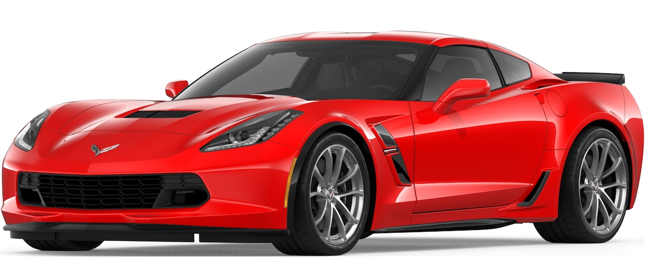 2019 CORVETTE GRAND SPORT IN TORCH RED