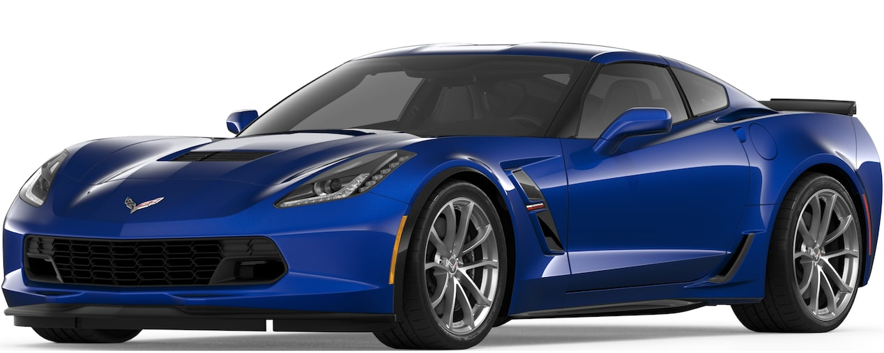 2019 CORVETTE GRAND SPORT IN ADMIRAL BLUE METALLIC