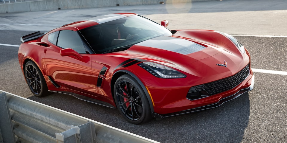 Exterior view of the 2019 Chevrolet Corvette Grand Sport