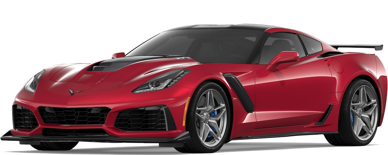 2019 CORVETTE ZR1 IN LONG BEACH RED TINTCOAT