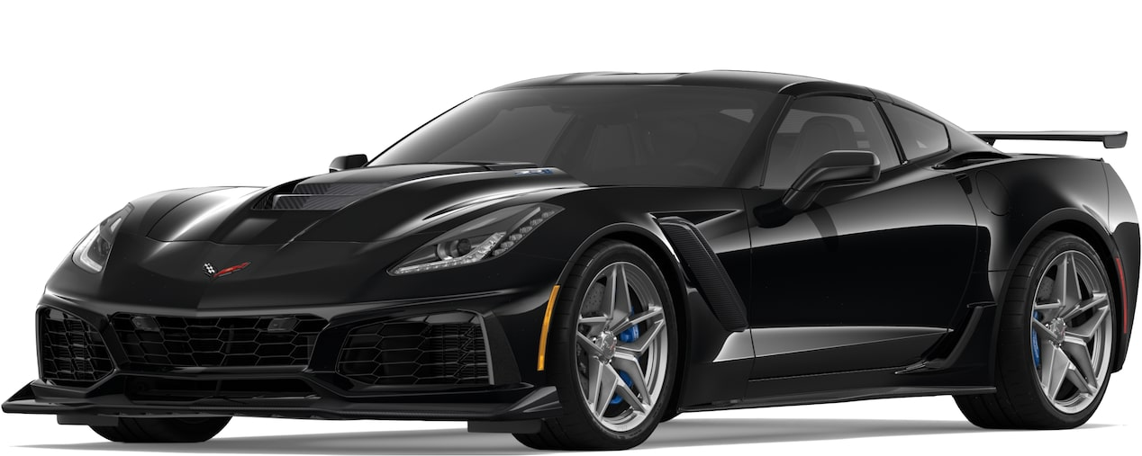 2019 CORVETTE ZR1 IN BLACK