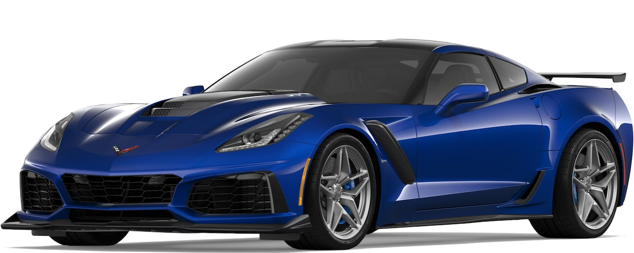 2019 CORVETTE ZR1 IN ADMIRAL BLUE METALLIC