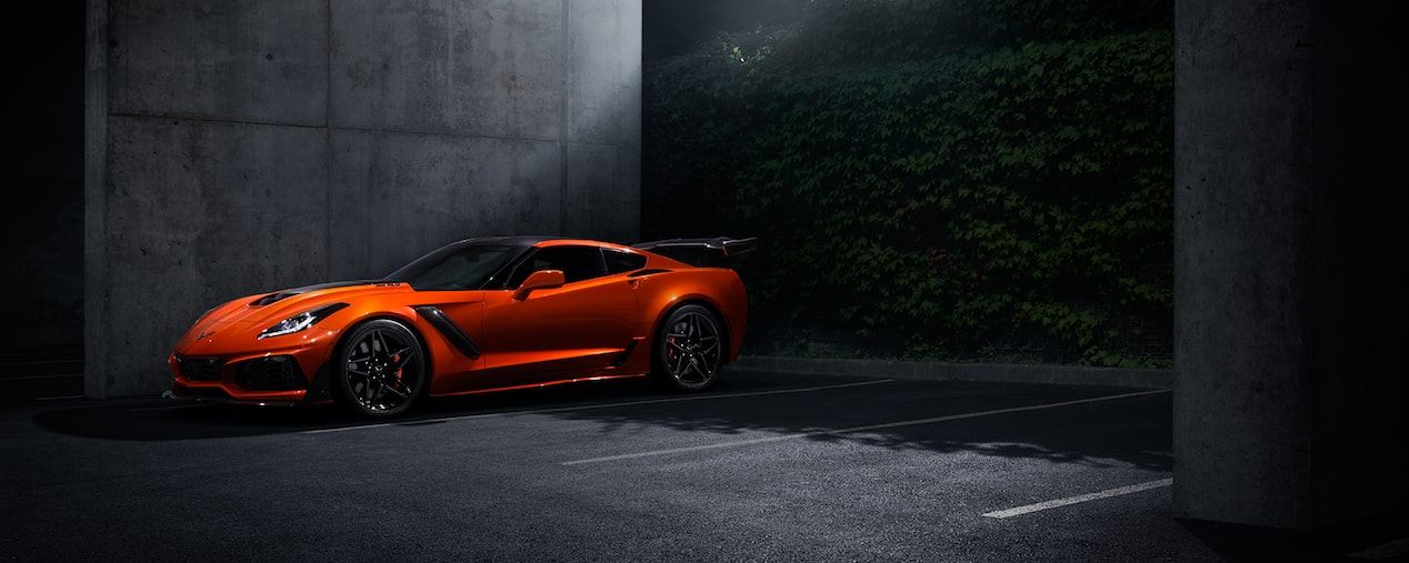 2019 Corvette Corvette ZR1: Sebring Orange Design Package.