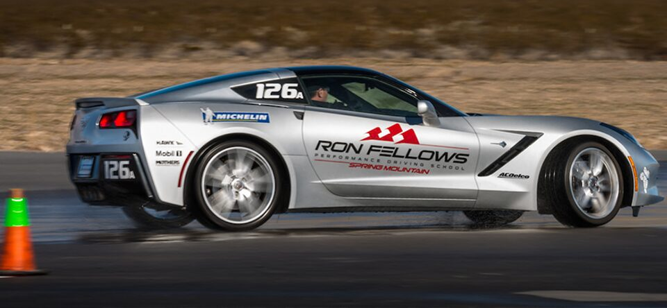 Corvette with Ron Fellows Performance Driving School.