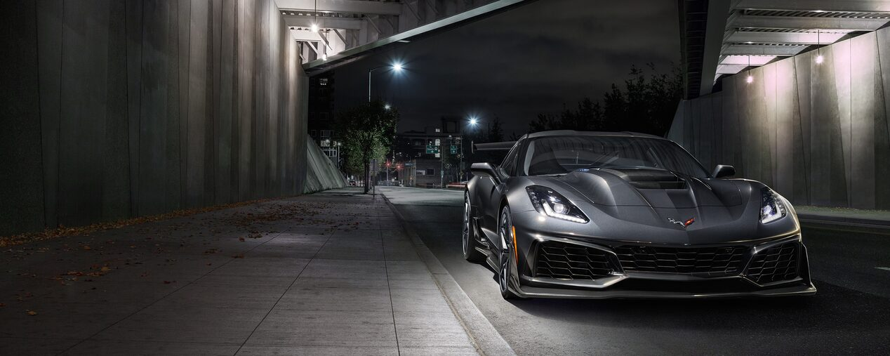 2019 Corvette ZR1 Supercar.