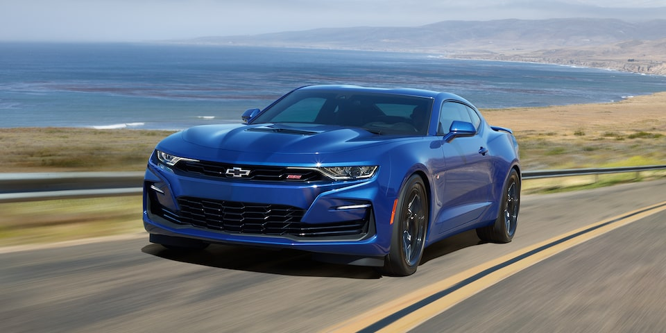 2020 Camaro: Front View.