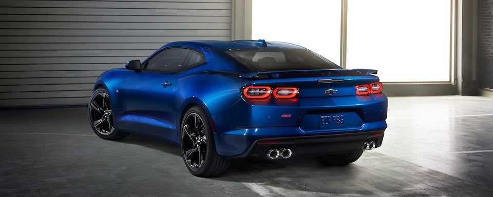 2021 Chevrolet Camaro Rear View.